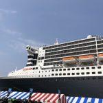 豪華クルーズ船「クイーン・メリー2」北九州初寄港